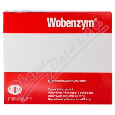 Wobenzym 40 enterosolventních tablet