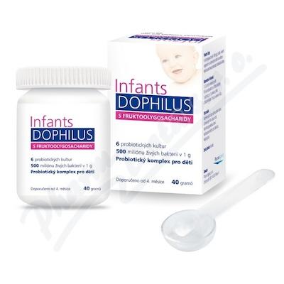 Zobrazit detail - Infants Dophilus s Fruktoolygosacharidy 40g