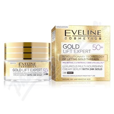 Zobrazit detail - EVELINE GOLD LIFT Expert Denní-Noční krém 50+ 50ml