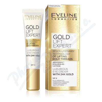 Zobrazit detail - EVELINE GOLD LIFT Expert krém na oči a víčka 15ml
