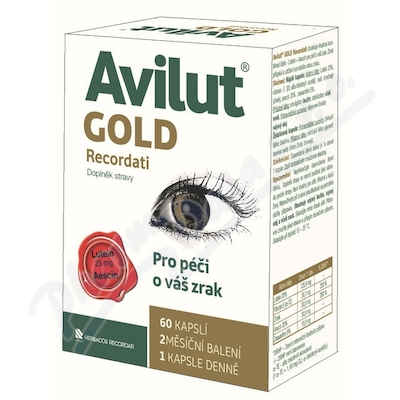 Zobrazit detail - Avilut GOLD Recordati cps. 60
