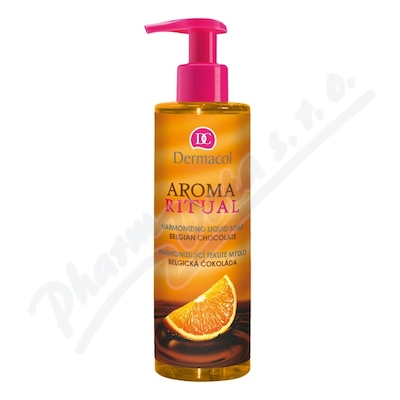 Zobrazit detail - Dermacol AR tek. mýdlo belgic. čokoláda 250ml