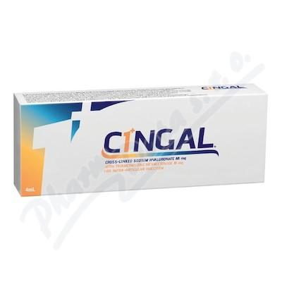 Roztok elastoviskozní CINGAL 4ml