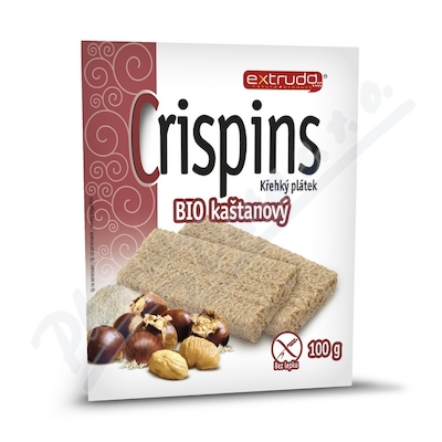 Zobrazit detail - Crispins BIO kaštanový křehký plátek 100 g