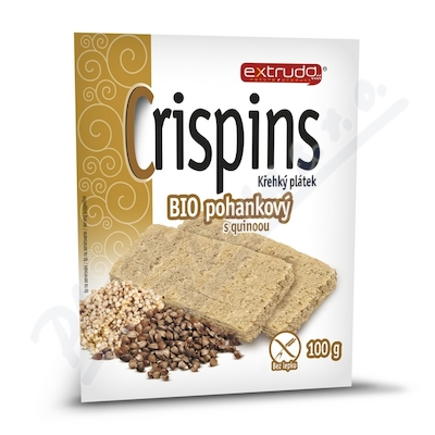 Zobrazit detail - Crispins BIO pohank.  křehký plátek s quinoou 100g