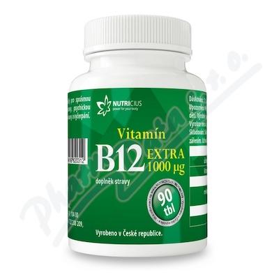 Zobrazit detail - Vitamín B12 EXTRA 1000mcg tbl. 90