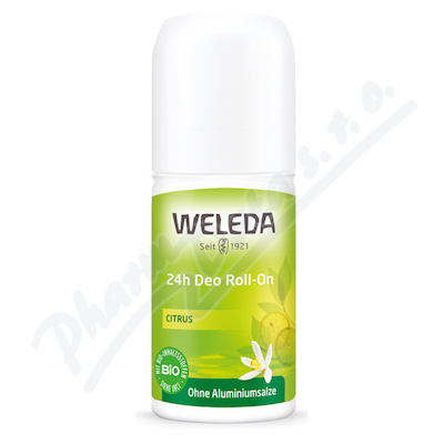 Zobrazit detail - WELEDA Deo Citrus 24h Roll-on 50 ml