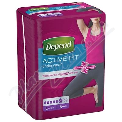 Zobrazit detail - Depend Active-Fit inkont. kalh. ženy vel. L 8ks