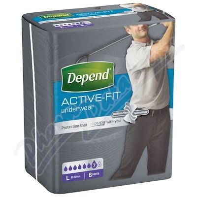 Zobrazit detail - Depend Active-Fit inkont. kalh. muži vel. L 8ks