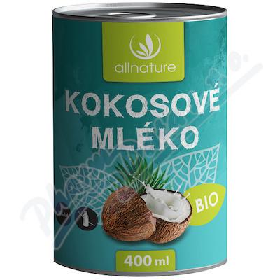 Zobrazit detail - Allnature Kokosové mléko BIO 400 ml