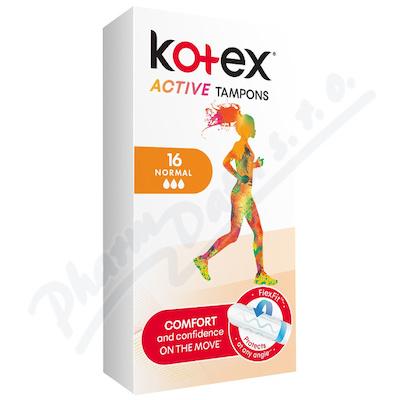 Zobrazit detail - KOTEX Tampony Active Normal 16ks