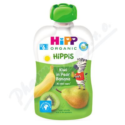 Zobrazit detail - HiPP BIO 100% ovoce Hruška-Banán-Kiwi 100g