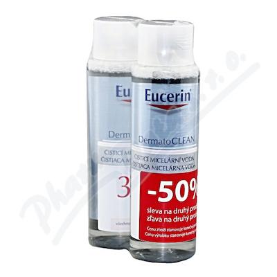 Zobrazit detail - EUCERIN DermatoCLEAN mic.  voda 3v1 DUOPACK 2x400ml