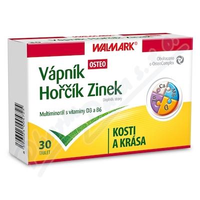 Zobrazit detail - Walmark Váp-Hoř-Zinek Osteo tbl. 30