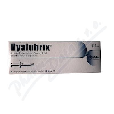 Hyalubrix injekce 1x2ml/30mg viskoelastický roztok