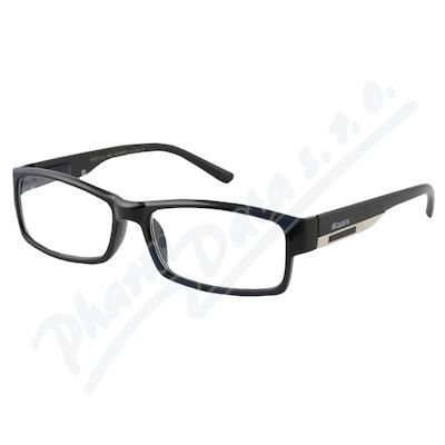 Zobrazit detail - Brýle čtecí +1. 50 FLEX UV400 černé s kov. doplňkem