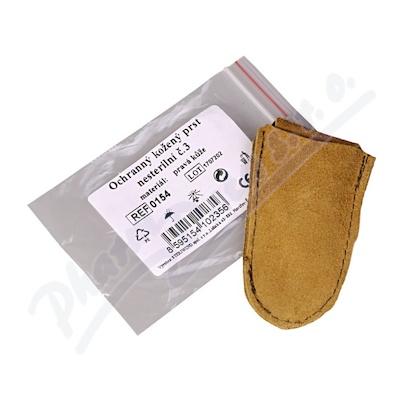 Zobrazit detail - Prst kožený ochranný vel. 3 Steriwund