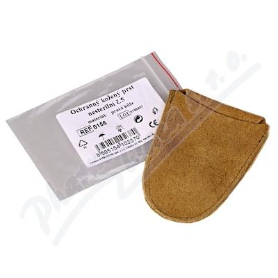 Zobrazit detail - Prst kožený ochranný vel. 5 Steriwund