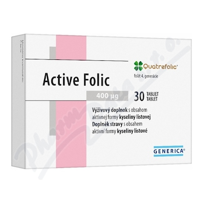 Zobrazit detail - Active Folic tbl. 30 Generica