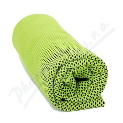Chladící ručník zelený 32x90cm SJH 540C