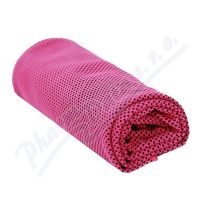 Chladící ručník růžový 32x90cm SJH 540A