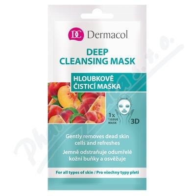 Zobrazit detail - Dermacol Hloubkově čistící textilní maska