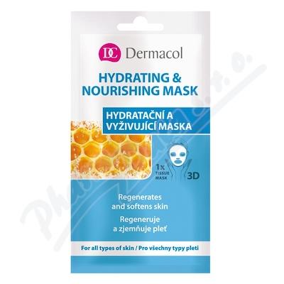 Zobrazit detail - Dermacol Hydratační a vyživující textilní maska