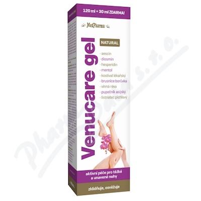 Zobrazit detail - MedPharma Venucare gel NATURAL 120ml+30ml ZDARMA
