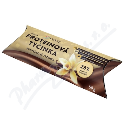 Zobrazit detail - Vieste Proteinová tyčinka vanilka 50g