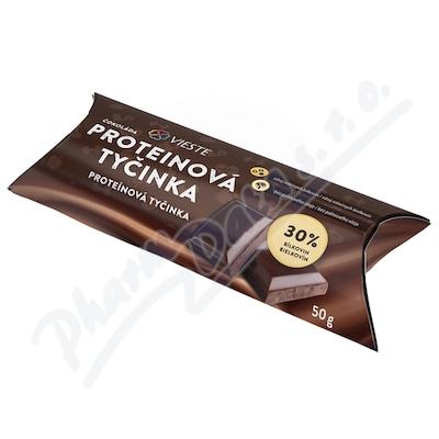 Zobrazit detail - Vieste Proteinová tyčinka čokoláda 50g