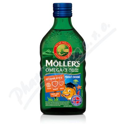 Zobrazit detail - Mollers Omega 3 Ovocná příchuť 250ml