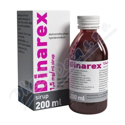Zobrazit detail - DINAREX 1. 5mg-ml por. sol.  1x200ml I