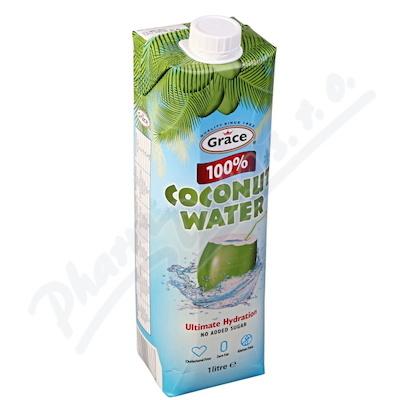 Zobrazit detail - Grace 100% Kokosová voda 1 litr