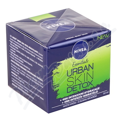 Zobrazit detail - NIVEA Noční krém URBAN SKIN 50ml č.  82551
