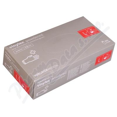 Zobrazit detail - Rukavice Vinylex powdered L 100 ks