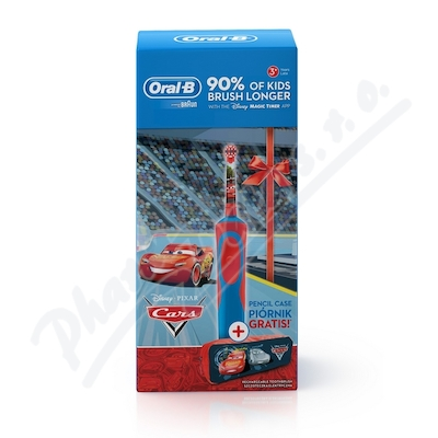 Zobrazit detail - Oral-B El. kart.  Vitality dětský Cars + penál