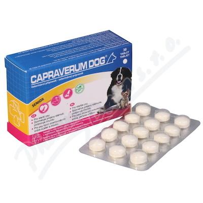 Zobrazit detail - Capraverum Dog senior tbl. 30