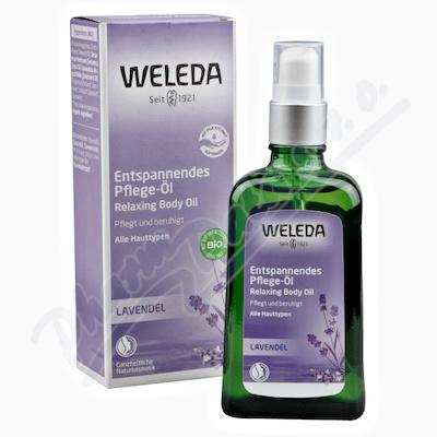 Zobrazit detail - WELEDA Levandulový zklidňující olej 100ml