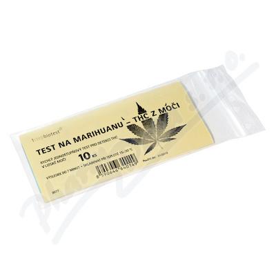 Zobrazit detail - Test na marihuanu-THC z moči 10ks
