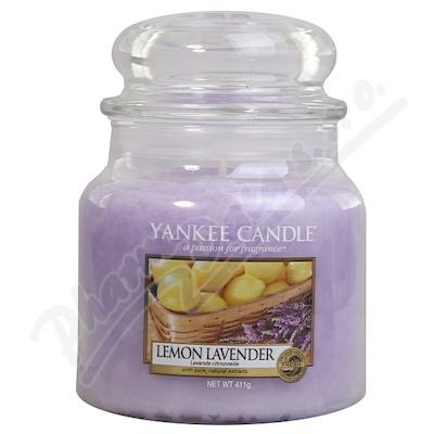 Zobrazit detail - YANKEE CANDLE vonná svíce Lemon Lavander 411g