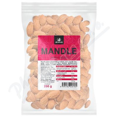 Zobrazit detail - Allnature Mandle jádra natural 250 g