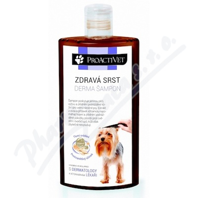 Zobrazit detail - Proactivet Zdravá srst Derma šampon 250ml