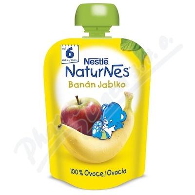 Zobrazit detail - NESTLÉ kapsička ovocná Naturnes Banán-Jablko 90gCZ
