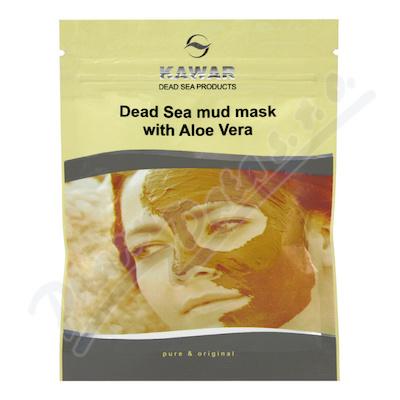 Zobrazit detail - KAWAR Pleť. maska s aloe vera a miner. z Mr. moře 75g