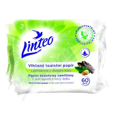 Zobrazit detail - Toaletní papír LlNTEO vlhč.  60ks s dub. kůrou roz.