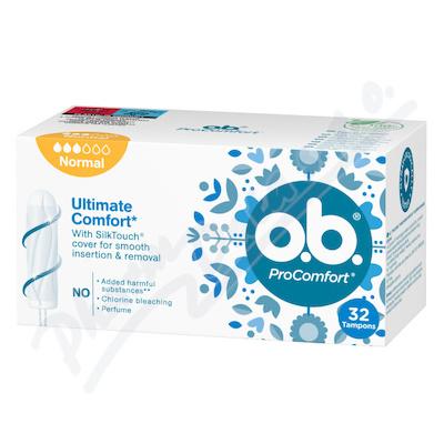 Zobrazit detail - o. b.  tampony ProComfort Normal 32 ks