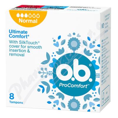Zobrazit detail - o. b.  tampony ProComfort Normal 8 ks