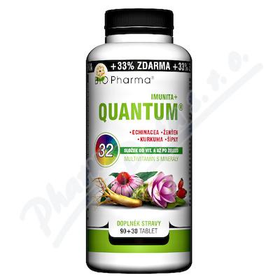 Zobrazit detail - QUANTUM Imunita+ 32 složek tbl. 90+30 BIO-Pharma