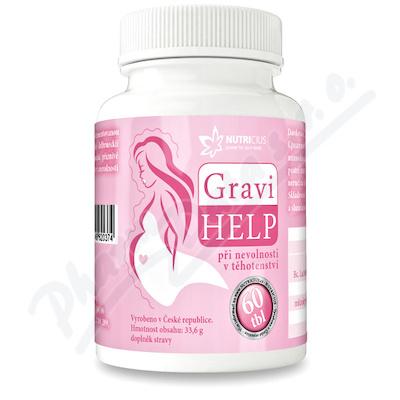 Zobrazit detail - GraviHELP - při nevolnosti v těhotenství tbl. 60