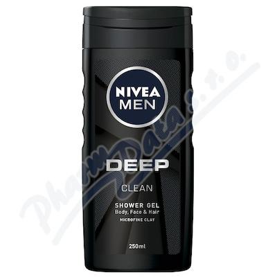 Zobrazit detail - NIVEA Sprchový gel Men Deep 250 ml č. 84086